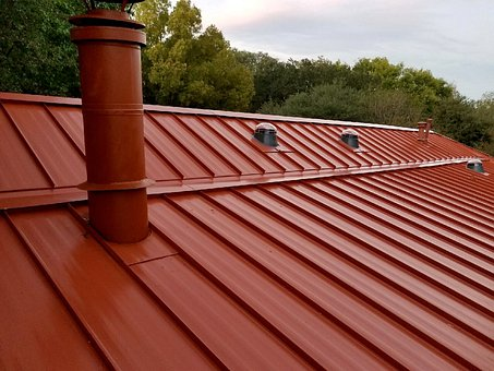 Rain gutter cleaning near me - roof picture